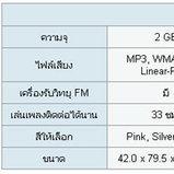 Sony : Walkman Video MP3 NWZ-S615F