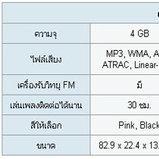 Sony : Walkman MP3 NW-E016F