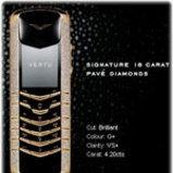 Vertu Signature Yellow Gold Pave Diamonds