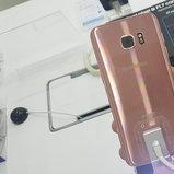 Samsung Galaxy S7 edge สี Pink Gold