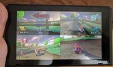 เกม Mario Kart 8 Deluxe เล่นได้ 4 คนพร้อมกันในโหมดพกพา