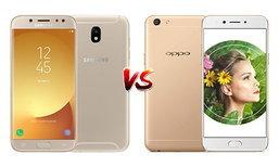 เปรียบเทียบ Samsung Galaxy J7 Pro และ OPPO A77 สมาร์ทโฟนรุ่นเด่นเน้นกล้องจากสองค่ายดัง