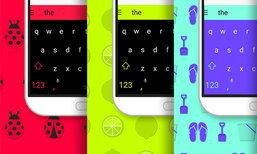 Swift Keyboard แจก Theme สีสันฟรีทั้ง IOS และ Android