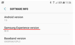 Samsung เปลี่ยนมาใช้ Samsung Experience แทน Touch WIZ UI ใน Android 7.0