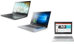 Lenovo เปิดตัวแล็ปท็อปและแท็บเล็ต Windows 10 ใหม่สามรุ่น