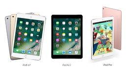 เปรียบเทียบสเปก iPad (2017), iPad Air 2 และ iPad Pro แตกต่างกันอย่างไร มีอะไรเปลี่ยนไปบ้าง