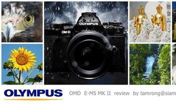 Olympus OMD EM5 MK II รีวิวแบบชาวบ้านๆ
