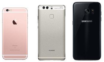 เปรียบเทียบกล้อง Huawei P9 VS Samsung Galaxy S7 VS iPhone 6s ใครดีกว่ากัน