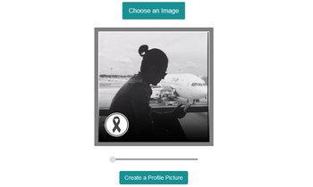สอนวิธีทำภาพโปรไฟล์ติดโบดำ เพื่อไว้อาลัยพ่อหลวง