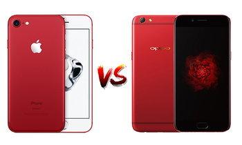 เปรียบเทียบ iPhone 7 RED และ OPPO R9s Red Edition สองสมาร์ทโฟนสีแดงที่ร้อนแรงที่สุด