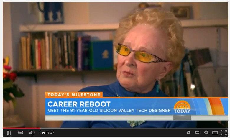 ไม่มีใครแก่เกินทำตามฝัน คุณยายวัย 91 ปี กับงานในฝันที่ Silicon Valley