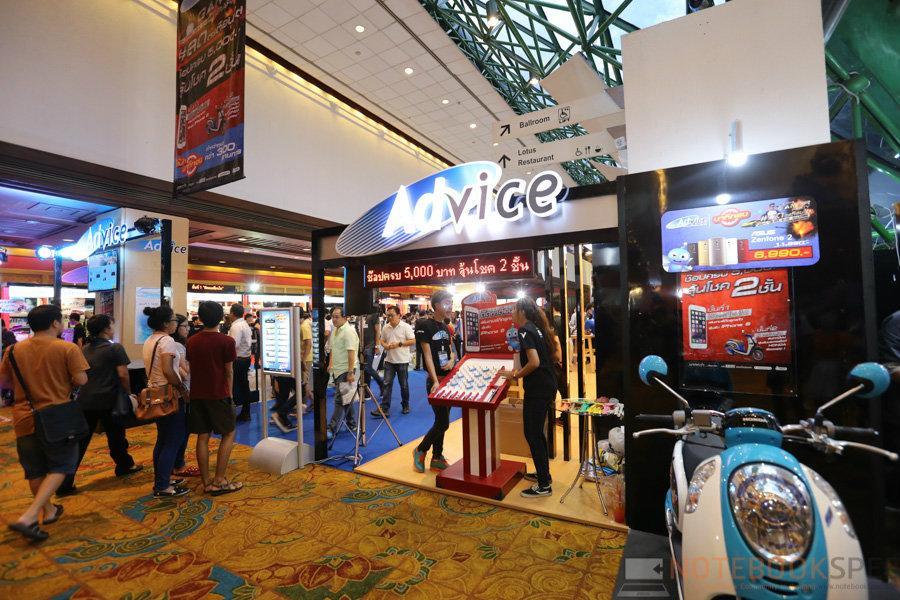 [Commart Next Gen 2015] พาชมบูธ Advice สินค้าลดราคากระจาย อุปกรณ์ Gaming เพียบ