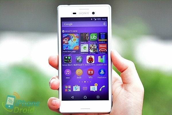 รีวิว Sony Xperia M4 Aqua สมาร์ทโฟนกันน้ำ ดีไซน์สวยงาม