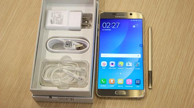 [พรีวิว] Samsung Galaxy Note 5 สมาร์ทโฟนดีไซน์หรูตัวจริงก่อนใคร