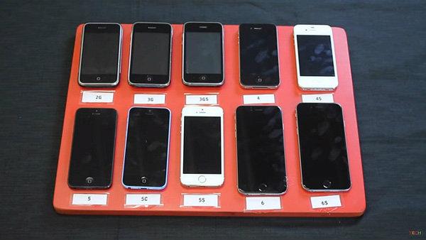 นำ iPhone ทุกรุ่นไปแช่น้ำ รุ่นไหนจะอึดสุด มาดูคลิปกัน
