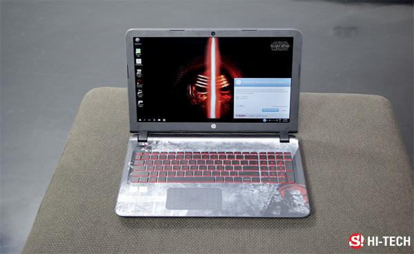 [รีวิว] HP Starwars Special Edition โน็ตบุ๊คเพื่อสาวก Starwars โดยตรง