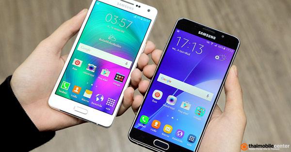 เปรียบเทียบ Samsung Galaxy A5, A7 (2016) รุ่นใหม่ กับ Galaxy A5, A7 (2015) รุ่นเก่าแบบช็อตต่อช็อต