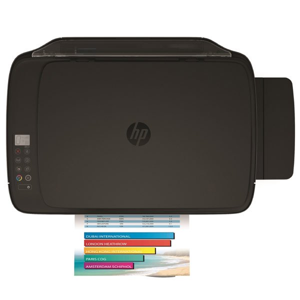 HP DeskJet GT 5820 All-in-One Printer WL, AerialTop, with output