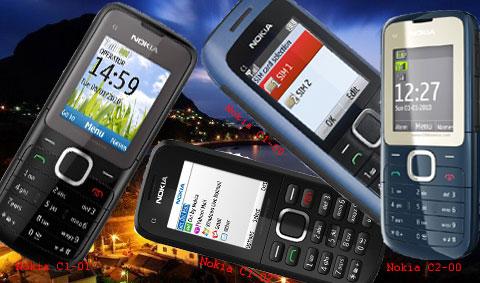 เลิกว่ากันซะที Nokia คลอดมือถือ 2 SIM แล้วกับ C1 และ C2