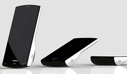 Nokia Kinetic แนวคิดโทรศัพท์ดีไซน์สวย