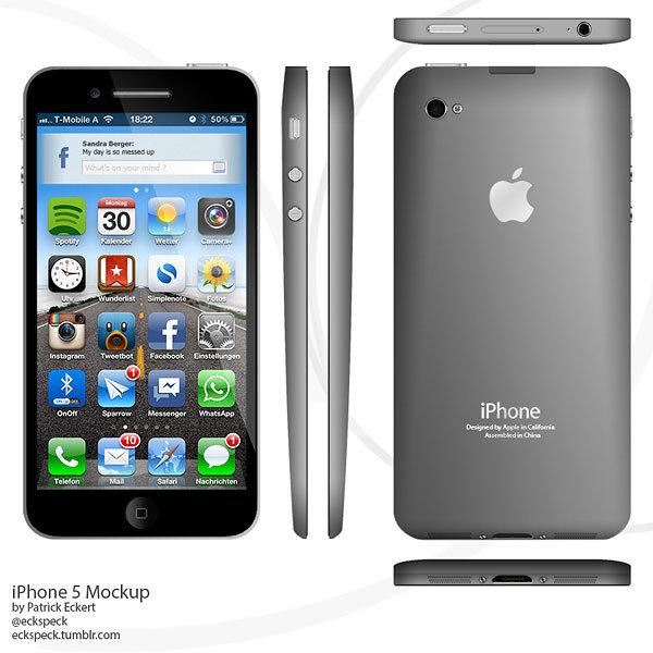 10 อันดับ ดีไซน์ iPhone 5  ที่น่าใช้มากที่สุด ปี 2012