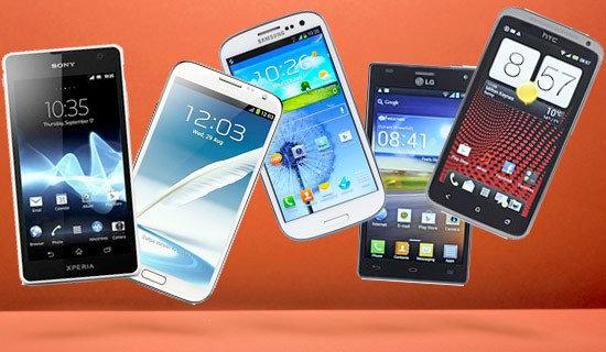 6 สมาร์ทโฟน ที่สุดแห่งปี 2012