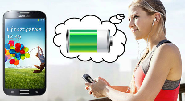 ทดสอบความอึดของแบตเตอรี่บน Samsung Galaxy S4
