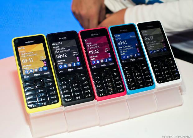 โนเกียวางจำหน่าย Nokia 105 และ Nokia 301