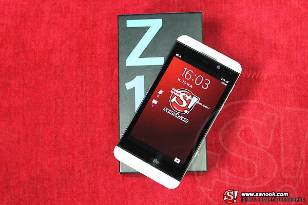 พรีวิวเล็กๆ BlackBerry Z10 พร้อมการกลับมาอย่างยิ่งใหญ่