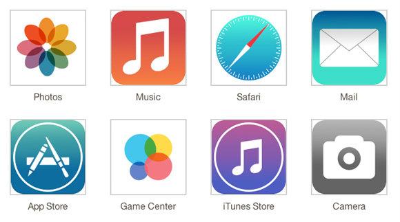 หน้าตา iOS 7 จากแหล่งข่าวของ 9to5mac