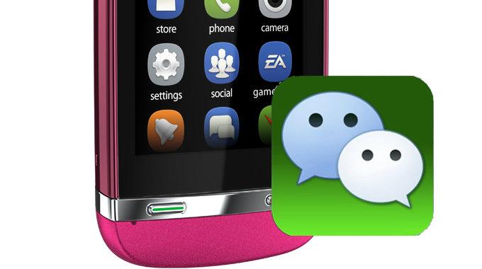 WeChat ใช้งานได้แล้วบน Nokia Asha Smartphones