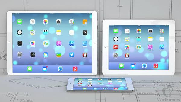 ลืออีก iPad หน้าจอ 12.9 นิ้ว เข้าสู่กระบวนการทดสอบแล้ว คาดเปิดตัว มีนาคม ปีหน้า