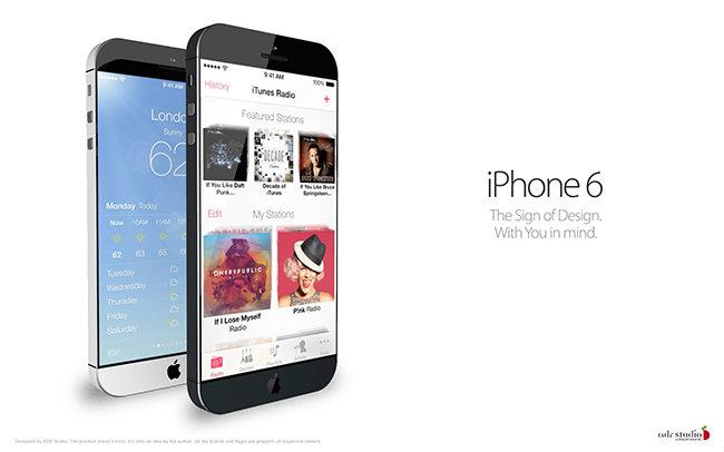iPhone 6 การปรับดีไซน์แบบยกชุด ?