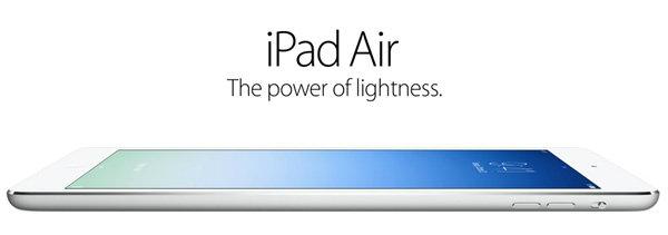 อัพเดทราคา iPad Air  วันที่ 11 กุมภาพันธ์ 2557