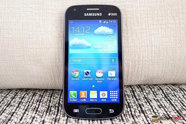 [รีวิว] Samsung Galaxy S Duos 2 สมาร์ทโฟน 2 ซิมการ์ด รูปทรงกะทัดรัด