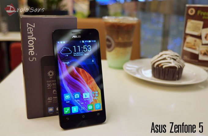 [Review] รีวิว Asus Zenfone 5 สมาร์ทโฟนสเปคคุ้ม ราคาประหยัด