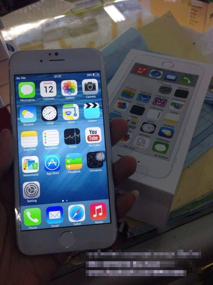 ไทยพร้อมวางขาย iPhone 6 (ก๊อปปี้)
