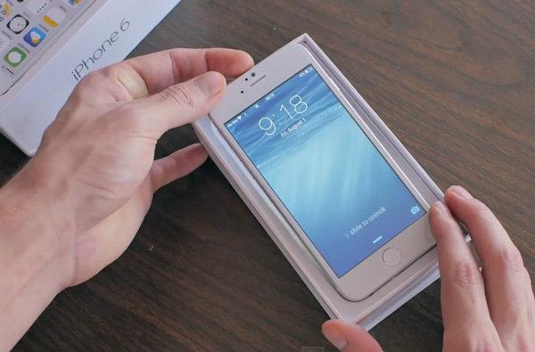 รอเปิดตัวไม่ไหว คลิปแกะกล่อง iPhone 6 เครื่อง Clone มาแล้ว