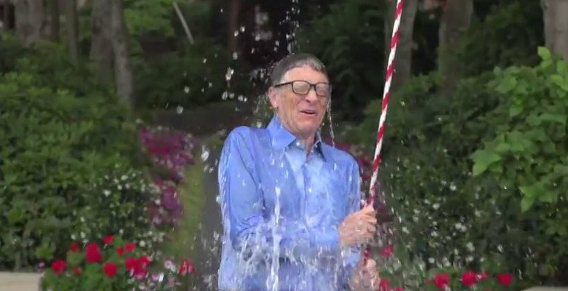 Ice Bucket Challenge คนดังแห่เล่น !! กิจกรรมแปลกแต่ได้บุญ