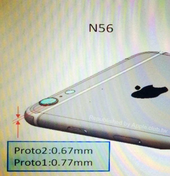 """พบภาพใหม่อ้างเป็น """"พิมพ์เขียว iPhone 6″"""