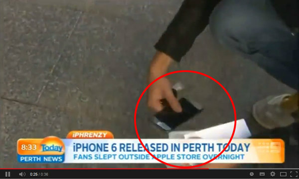 """เมื่อความ """"ซวย"""" บังเกิดแก่เจ้าของไอโฟน 6 เครื่องแรก"""