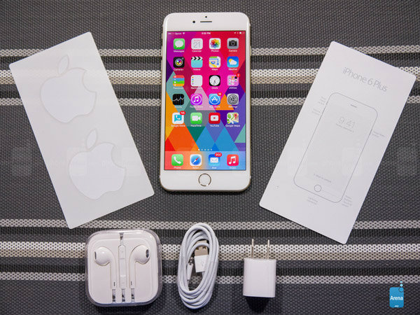 รีวิว iPhone 6 Plus ไอโฟนหน้าจอใหญ่ 5.5 นิ้ว แบบ Retina HD