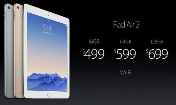 iPad Air 2 เปิดตัวแล้ว มีอะไรใหม่บ้าง!!