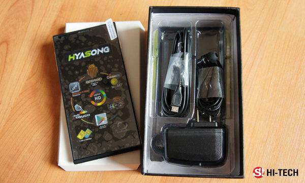 แกะกล่องเล่น Hyasong Z1 กับแท็บเล็ตจอใหญ่แต่ราคาสะบายกระเป๋า