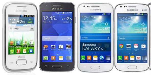 ซัมซุงเปิดตัวสมาร์ทโฟน 4 รุ่นใหม่ล่าสุดเอาใจวัยรุ่น