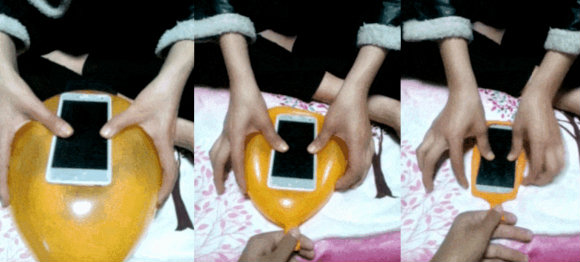 ลองมั้ย! เคสมือถือสมาร์ทโฟนทำจากลูกโป่ง