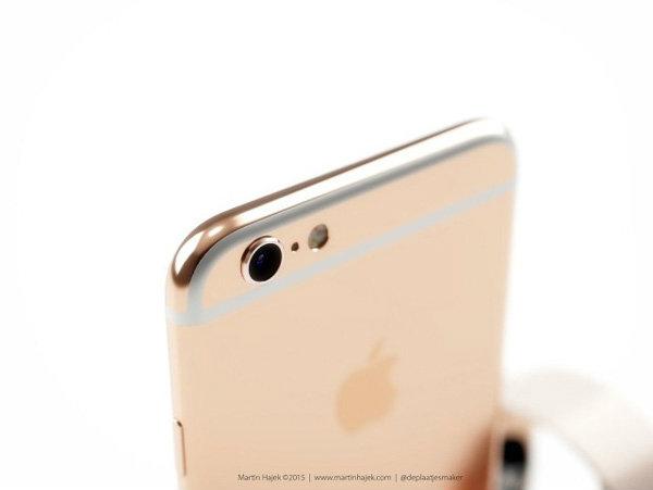 ชมภาพเรนเดอร์ iPhone 6S(ไอโฟน6s) สีชมพู Rose Gold สวยล้ำ น่าใช้