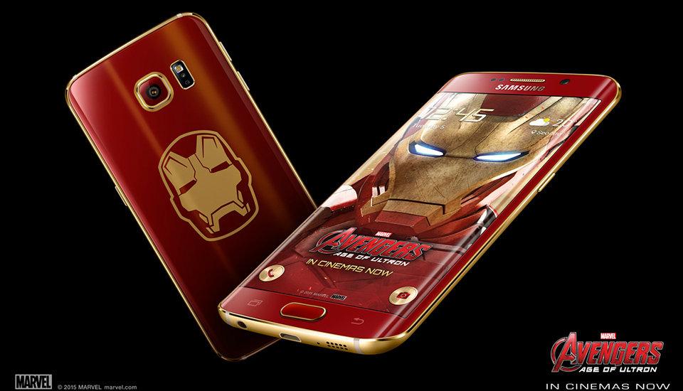 Galaxy S6 Edge รุ่น Iron Man  รุ่นนี้มีไว้แล้วเจิด
