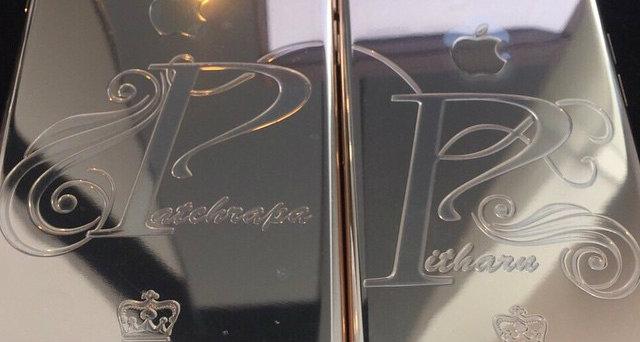 รวมภาพคนไทยรวยเวอร์!! แห่ใช้ไอโฟน 6 ทองคำ