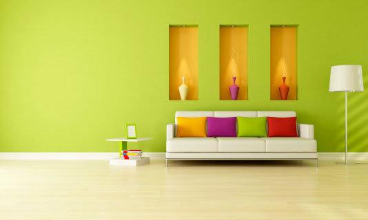 ปรับฮวงจุ้ยบ้านด้วยสีสัน